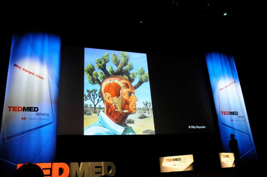 TEDMEDLive Athens, Athens, Greece. April 2013.