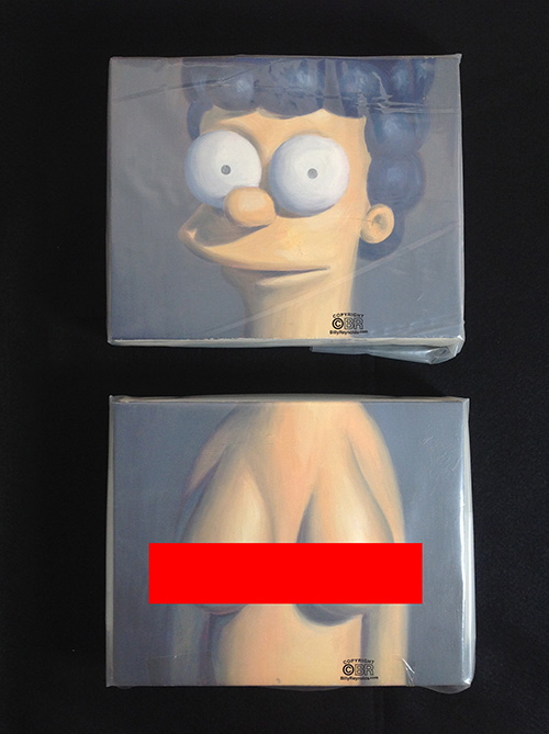 Marge Diptych Wrapped copy 2