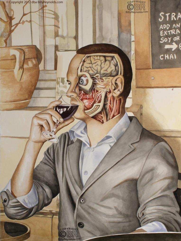 Me Drinking Wine copy